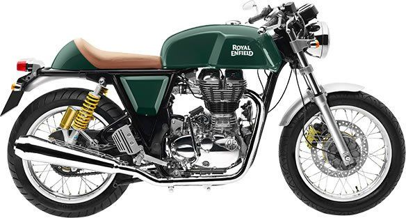 Royal Enfield Continental GT - Green