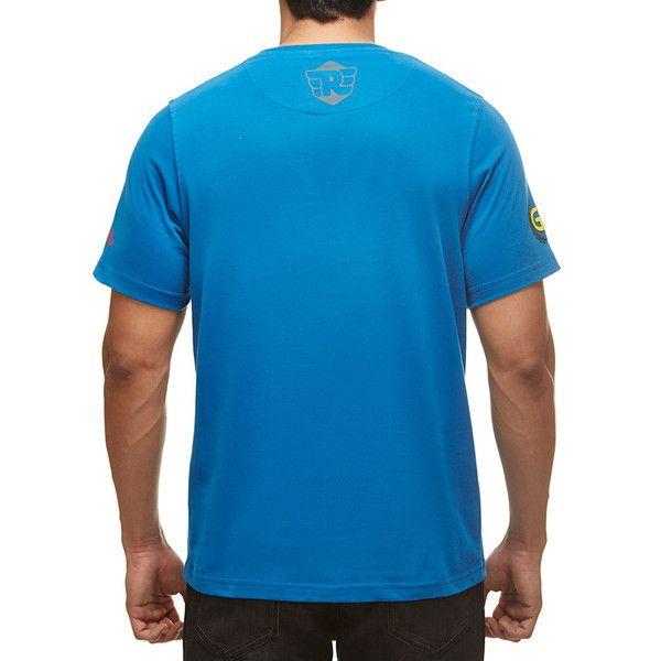 Royal Enfield GT Flag T-Shirt Blue