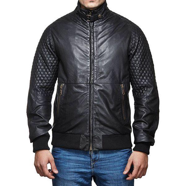 Royal Enfield Classic Moto Leather Jacket Black
