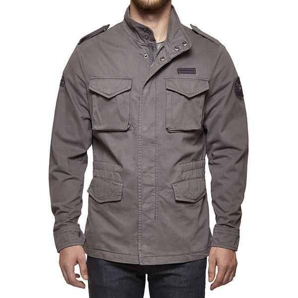 Royal Enfield M-WD/COLF Field Jacket Grey
