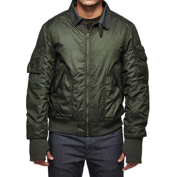 Royal Enfield M-WD/Airborne Aviator Jacket Jacket Olive