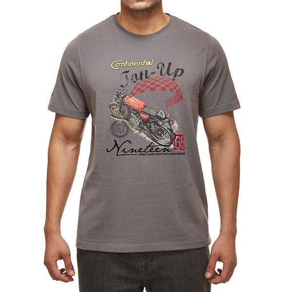 Royal Enfield GT Ton Up T-Shirt Grey