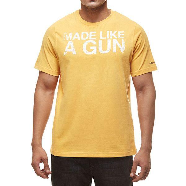 Royal Enfield Gun T-Shirt With Vintage Logo Black