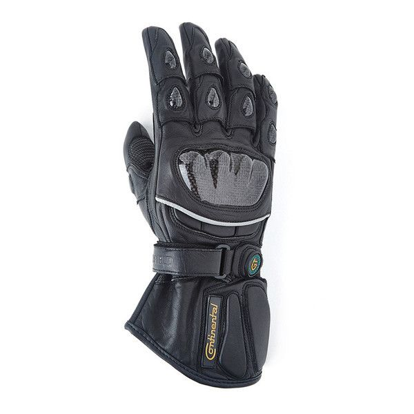 Royal Enfield GT Long Leather Glove Black