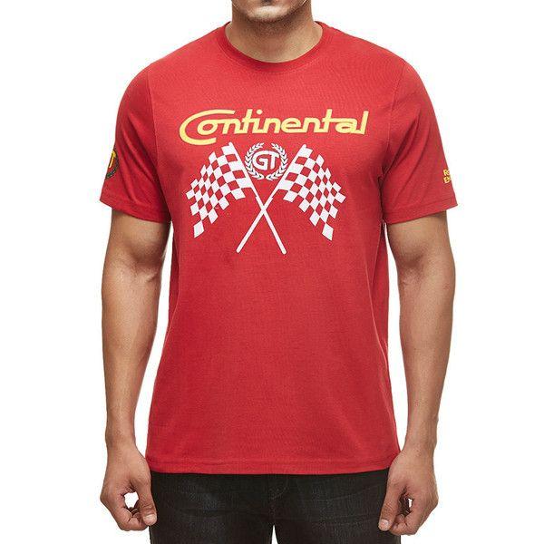 Royal Enfield GT Flag T-Shirt Red