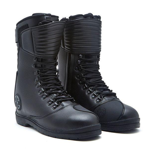 Royal Enfield Long Riding Boot Black