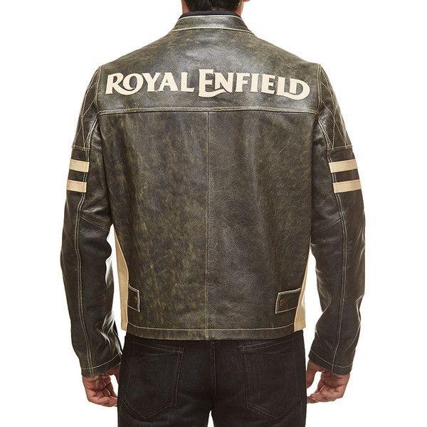 l Enfield Antique Leather Jacket Black