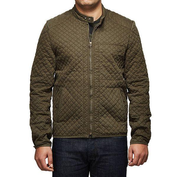 Royal Enfield Urban Drifter Denim & Twill Jacket Olive