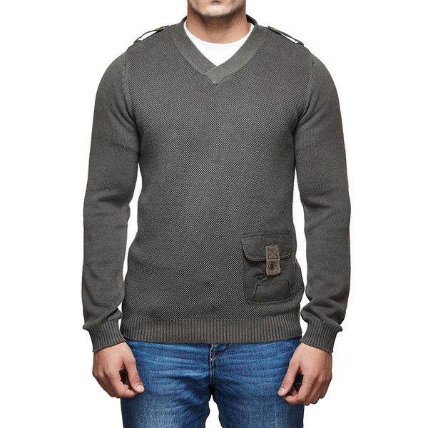 Royal Enfield Messenger Sweater Olive