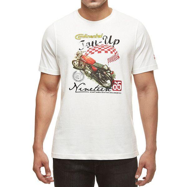 Royal Enfield GT Ton Up T-Shirt White