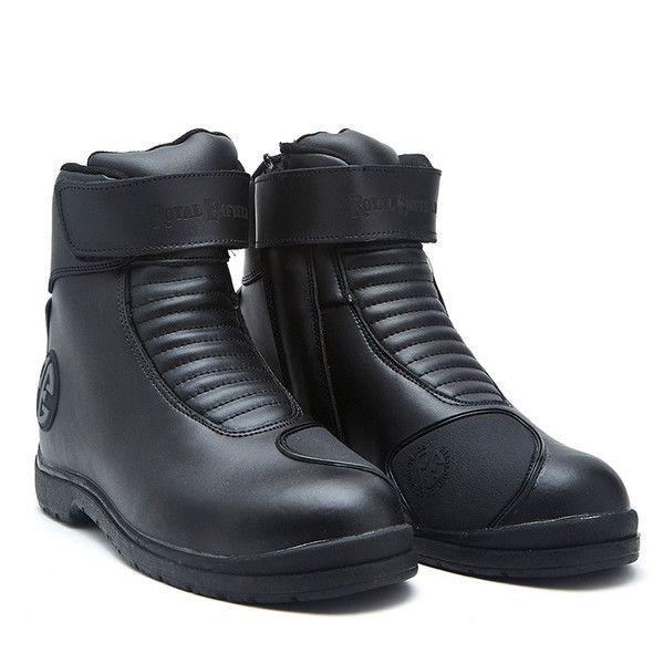 Royal Enfield Short Riding Boot Black