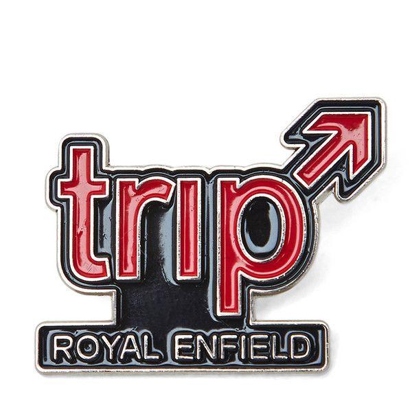 Royal Enfield Pin Badge Trip
