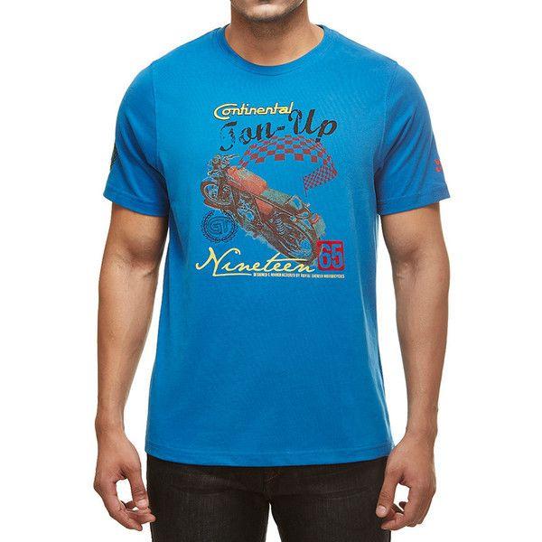 Royal Enfield GT Ton Up T-Shirt Blue
