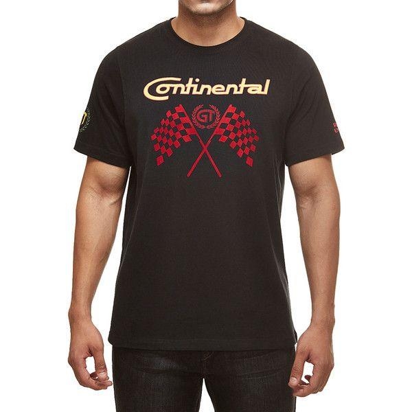 Royal Enfield GT Flag T-Shirt Black