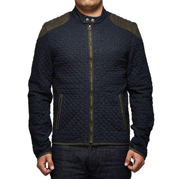 Royal Enfield Urban Drifter Denim & Twill Jacket Blue