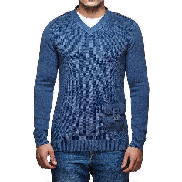 Royal Enfield Messenger Sweater Navy