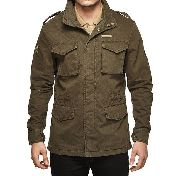 Royal Enfield M-WD/COLF Field Jacket Olive