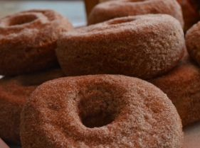 Doughnuts sold at our traditional bakery in Billingshurst