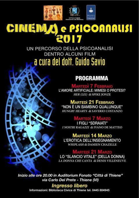 Cinema e psicoanalisi 2017