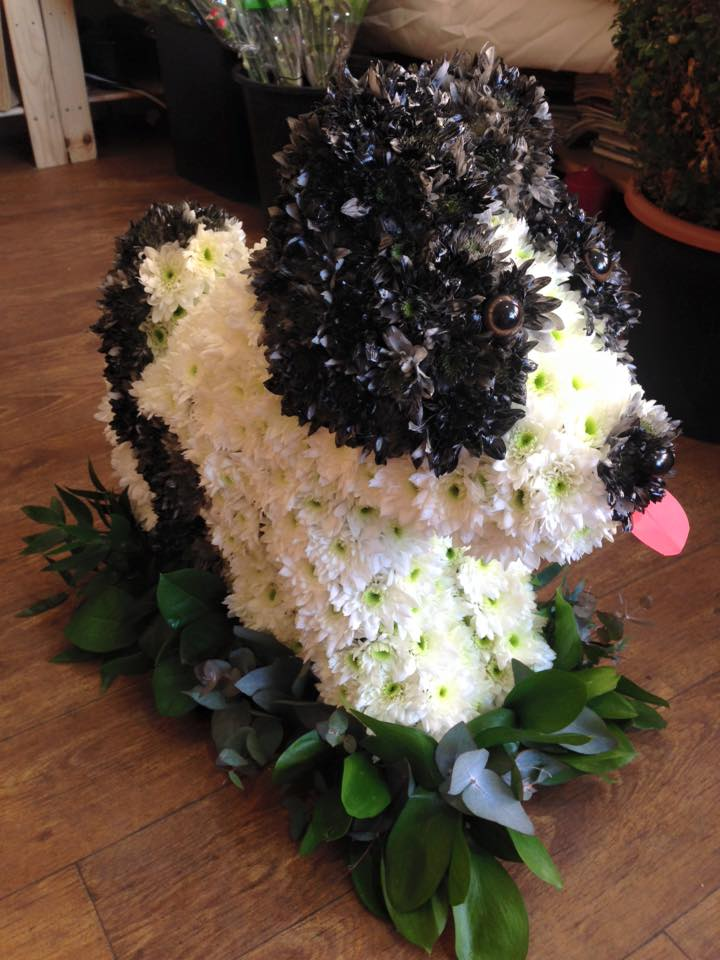 puppy shaped flowers