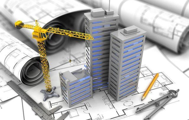 model of buildings