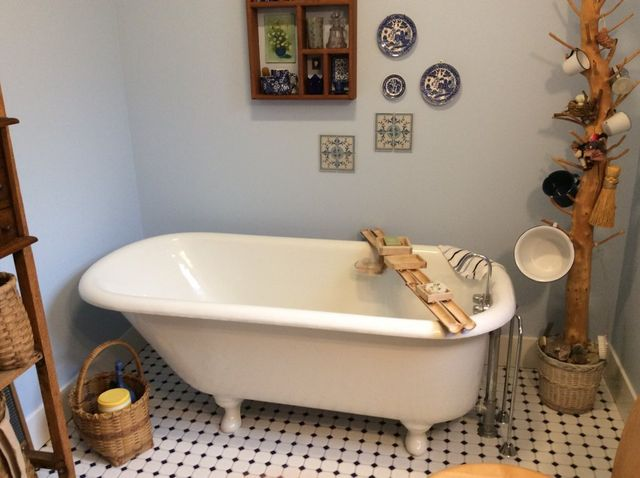 vintage clawfoot bathtub & sink restoration | durafinish