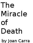 The Miracle of Death cover