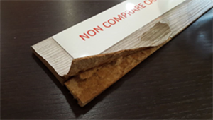 Non comprare il cartone compresso