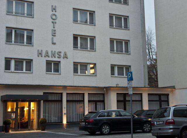 Die Außenansicht des Hotel Hansa Offenbach