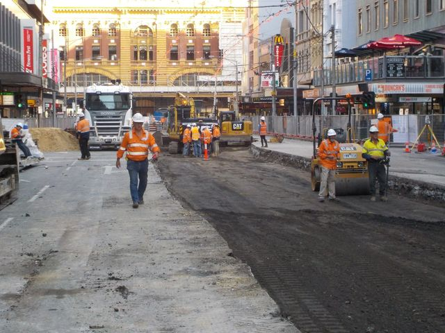 construction road