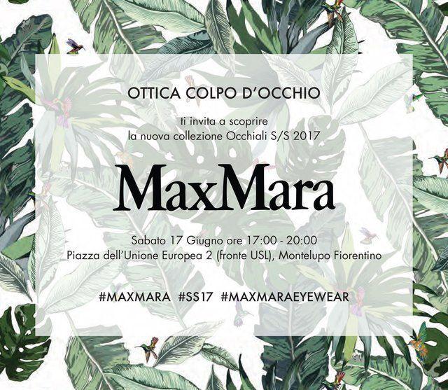 MaxMara - ottica colpo d'occhio