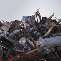 iron metal scrap