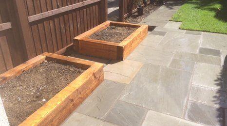 Building garden walls
