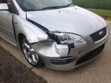accident damaged car