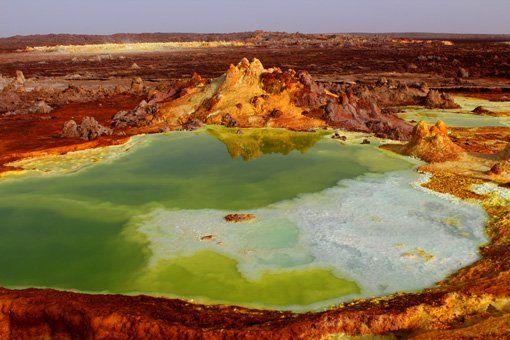 danakil depression acid pond