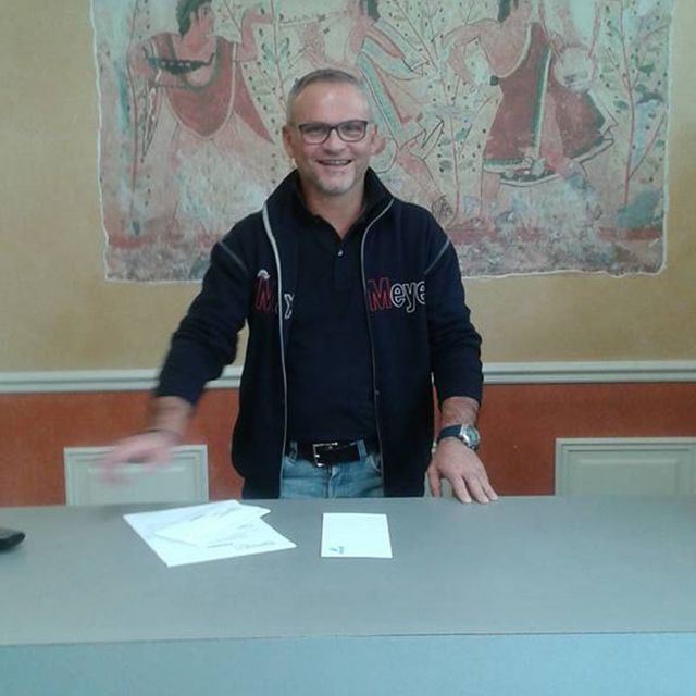 Cera Gianni - addetto alle vendite - Spelgatti Colori - Collaboratore da 26 anni.