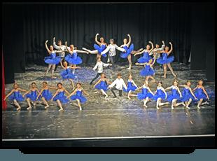 a ballet dancing school