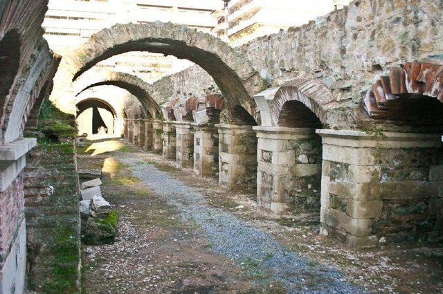 Thessaloniki ruiner