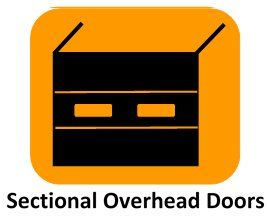 sectional overheated doors