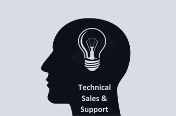 icon of Technical sales & support executive