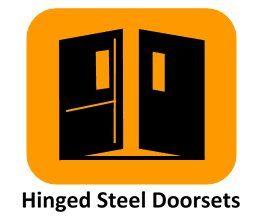 hinged steel doorsets