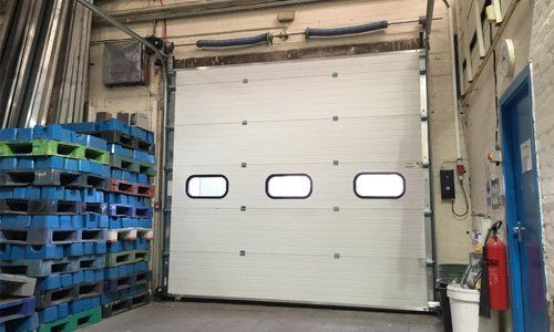 Mechdoors Sectional Overhead Doors In Glasgow Amp Edinburgh