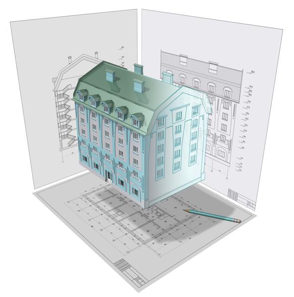 measured building