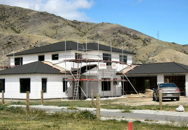 Erected scaffold hire material in Central Otago