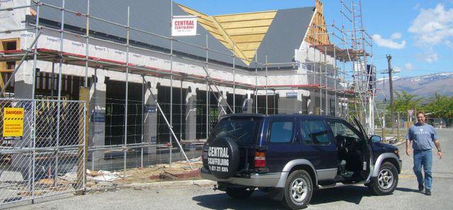 A scaffolding expert in Central Otago