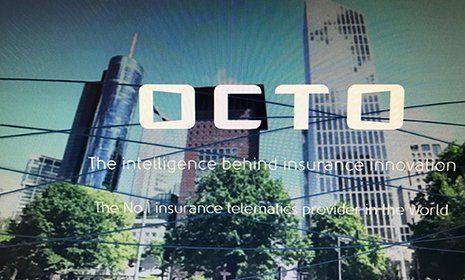 Logo e slogan della marca OCTO
