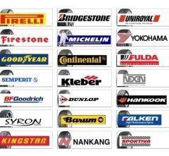 alcune marche di aziende produttrici di pneumatici