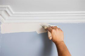 Coving and paper hanging - Yeovil, Somerset - A & J Thompson Painters and Decorators Ltd. - Coving