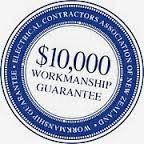 Workmanship guarantee logo