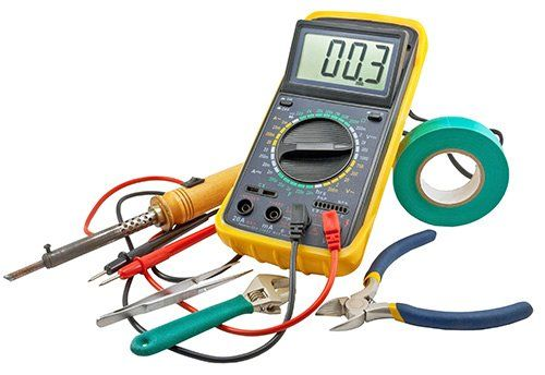 Equipment used by electricians